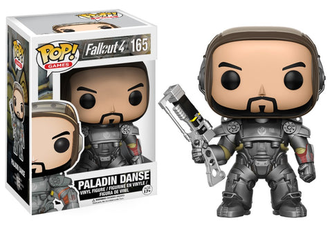 Funko Pop! Games - Fallout 4 #165 - Paladin Danse - Simply Toys