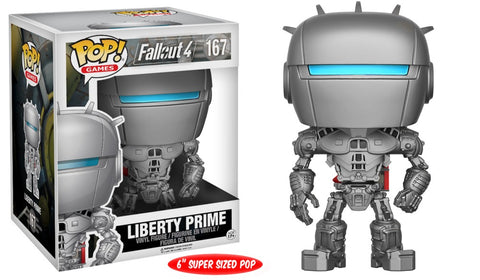 Funko Pop! Games - Fallout 4 #167 - Liberty Prime (6 inch) - Simply Toys