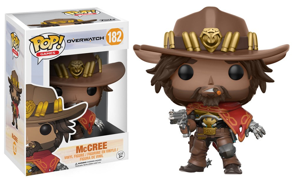 Funko Pop! Games - Overwatch #182 - McCree - Simply Toys