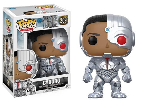 Funko Pop! DC - Justice League #209 - Cyborg - Simply Toys