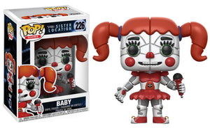 Funko Pop! Games - Five Nights at Freddy's Sister Location #226 - Baby - Simply Toys