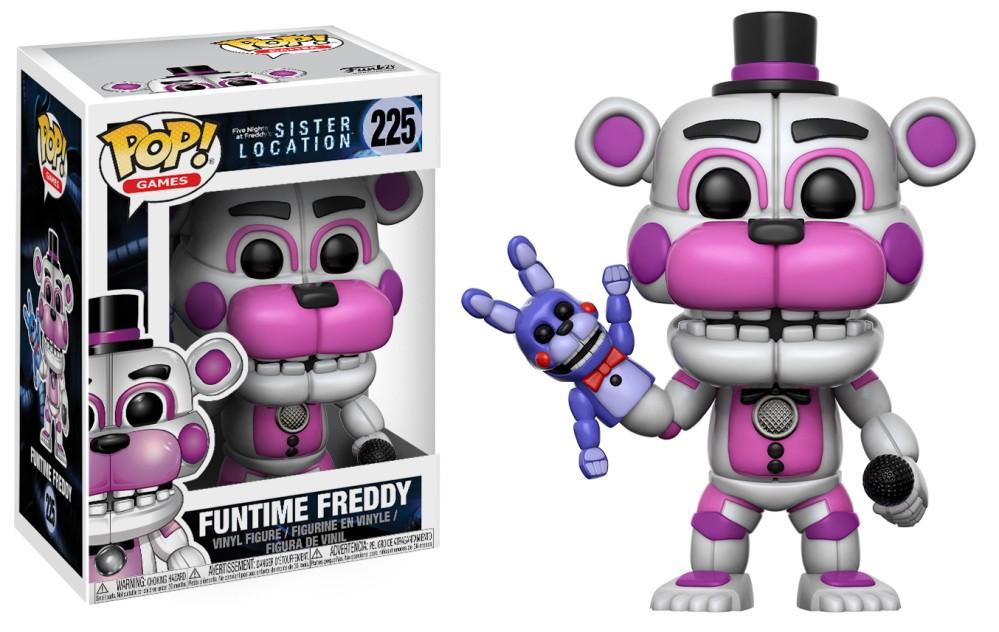 Funko Pop! Games - Five Nights at Freddy's Sister Location #225 - Funtime Freddy - Simply Toys