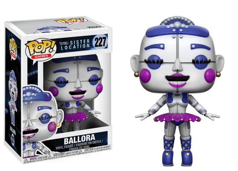 Funko Pop! Games - Five Nights at Freddy's Sister Location #227 - Ballora - Simply Toys