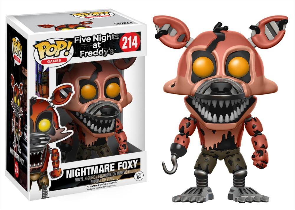 Funko Pop! Games - Five Nights at Freddy's #214 - Nightmare Foxy - Simply Toys