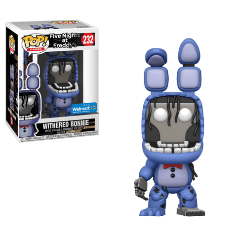 Funko Pop! Games - Five Nights at Freddy's #232 - Withered Bonnie (Exclusive) - Simply Toys