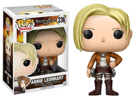 Funko Pop! Animation - Attack on Titan #236 - Annie Leonhart *VAULTED* - Simply Toys