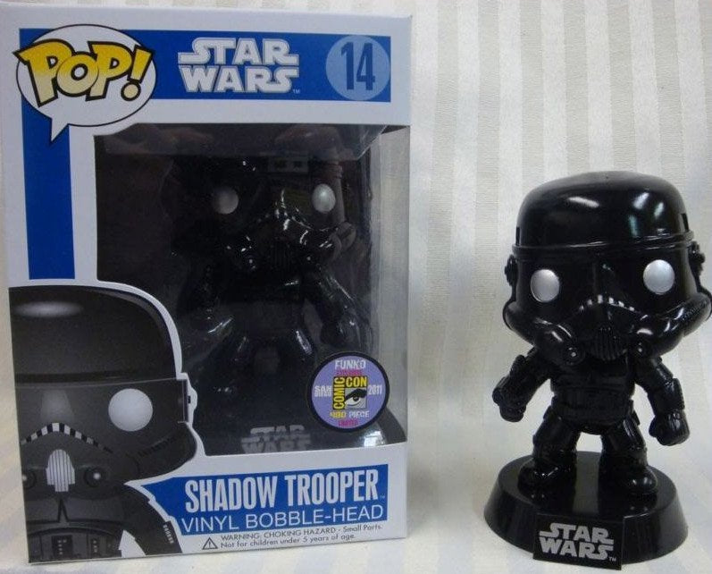 Funko Pop! Movies - Star Wars #14 - Shadow Trooper (Exclusive) - Simply Toys
