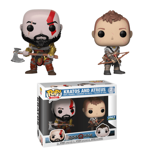 Funko Pop! Games - God of War - Kratos & Arteus (2 Pack) - Simply Toys