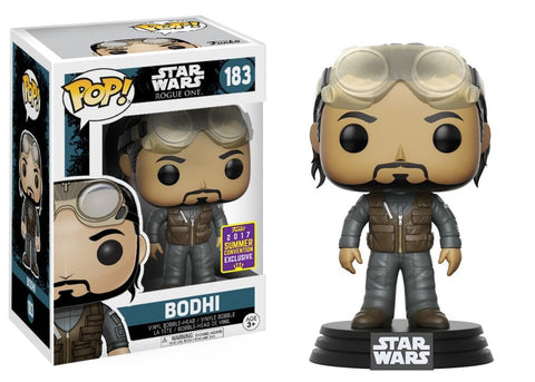 Funko Pop! Movies - Rogue One: A Star Wars Story #183 - Bodhi Rook (Exclusive) - Simply Toys