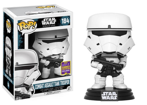 Funko Pop! Movies - Rogue One: A Star Wars Story #184 - Combat Assault Tank Trooper (Exclusive) - Simply Toys