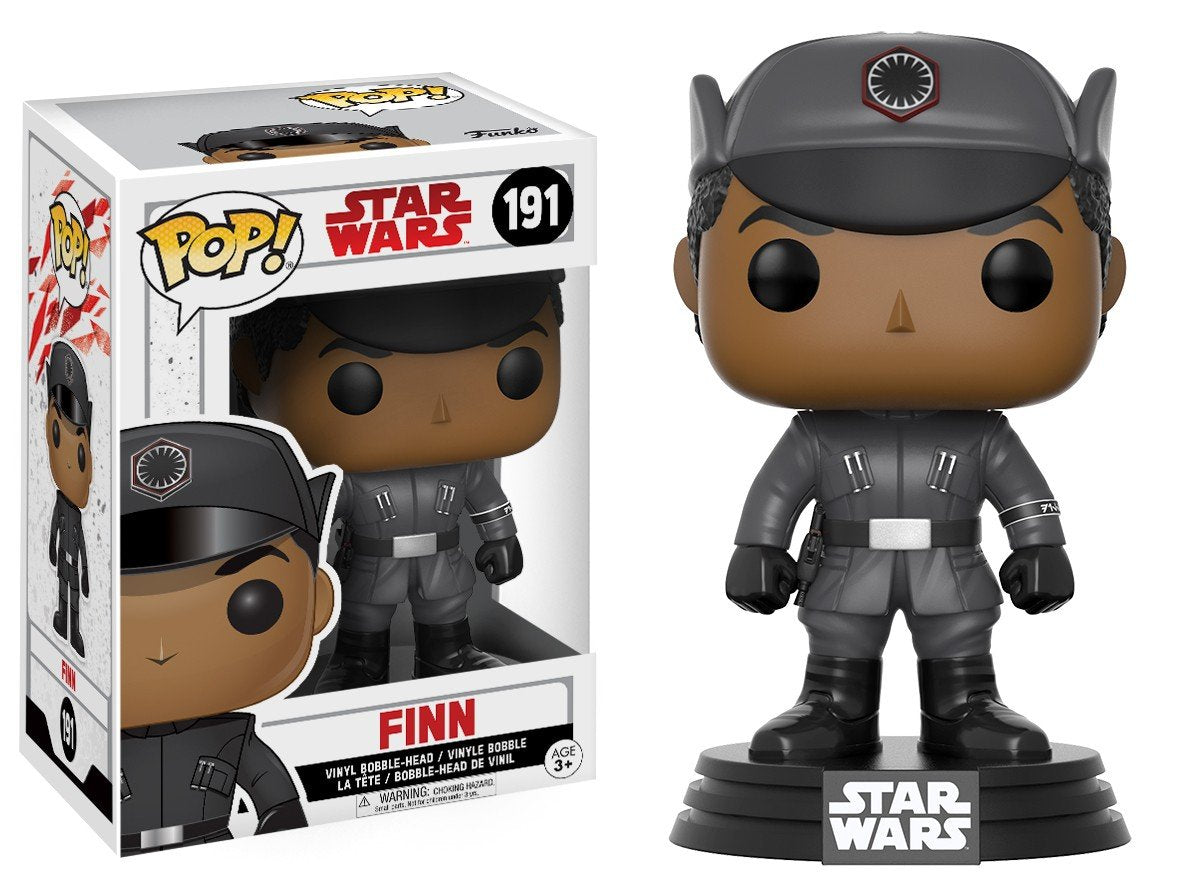 Funko Pop! Movies - Star Wars: Episode VIII - The Last Jedi #191 - Finn (in Disguise) - Simply Toys