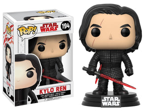 Funko Pop! Movies - Star Wars: Episode VIII - The Last Jedi #194 - Kylo Ren (Unmasked) - Simply Toys