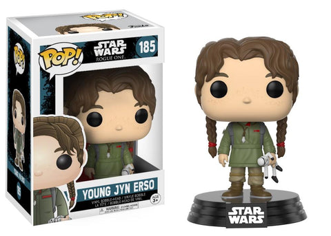 Funko Pop! Movies - Rogue One: A Star Wars Story #185 - Young Jyn Erso - Simply Toys