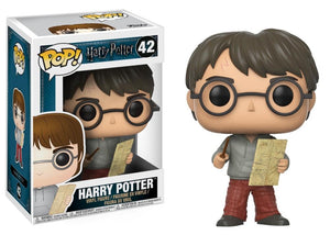 Funko Pop! Movies - Harry Potter #42 - Harry Potter (with Marauder's Map) - Simply Toys