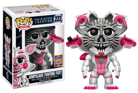 Funko Pop! Games - Five Nights at Freddy's Sister Location #223 - Jumpscare Funtime Foxy (Exclusive) - Simply Toys