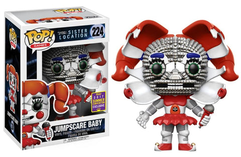 Funko Pop! Games - Five Nights at Freddy's Sister Location #224 - Jumpscare Baby (Exclusive) - Simply Toys
