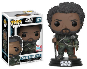 Funko Pop! Movies - Rogue One: A Star Wars Story #177 - Saw Gererra (Exclusive) - Simply Toys