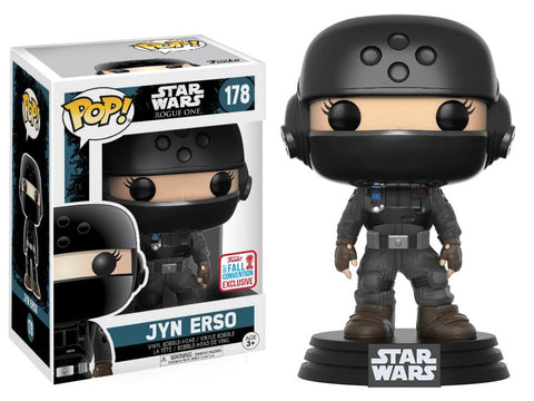Funko Pop! Movies - Rogue One: A Star Wars Story #178 - Jyn Erso (in Disguise) (Exclusive) - Simply Toys