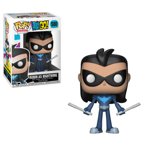 Funko Pop! Television - Teen Titans GO! #580 - Robin as Nightwing - Simply Toys