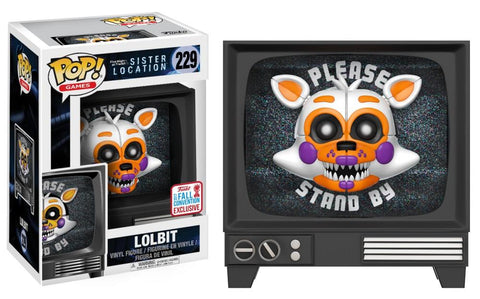 Funko Pop! Games - Five Nights at Freddy's Sister Location #229 - Lolbit (Exclusive) - Simply Toys