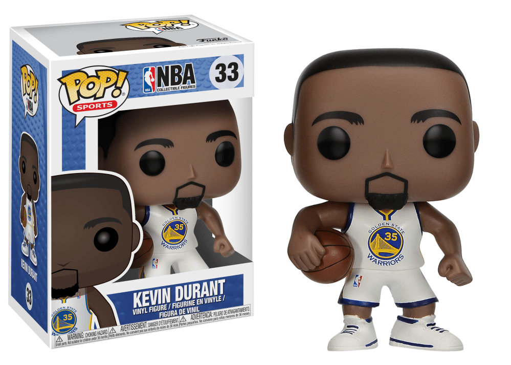 Funko Pop! Sports - NBA: Golden State Warriors #33 - Kevin Durant - Simply Toys