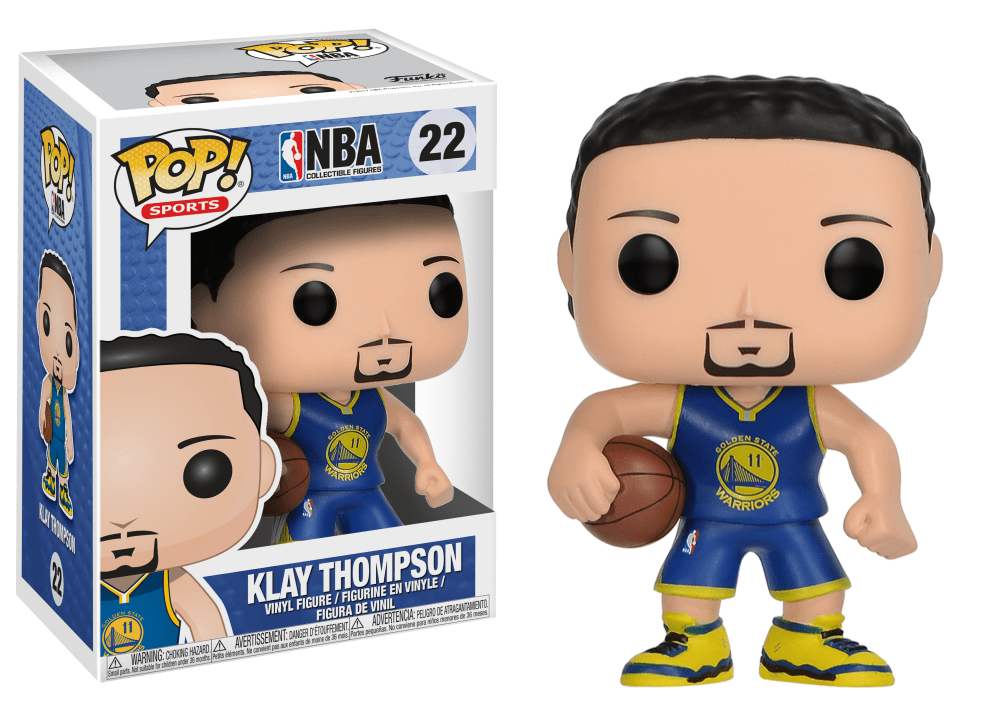 Funko Pop! Sports - NBA: Golden State Warriors #22 - Klay Thompson - Simply Toys