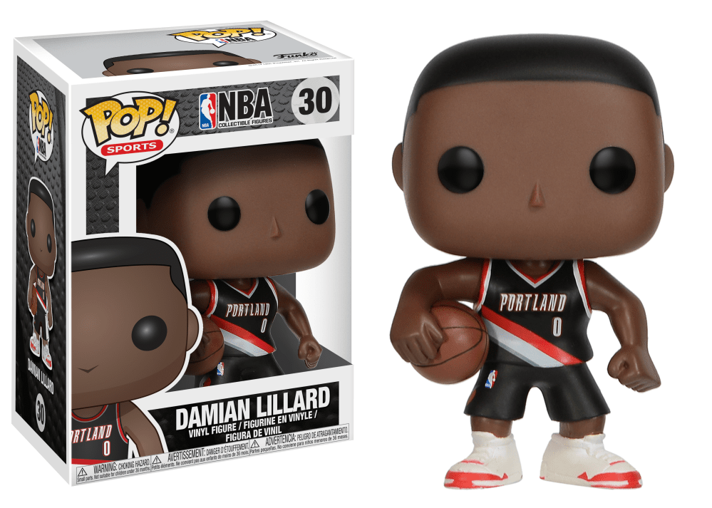 Funko Pop! Sports - NBA: Portland Trail Blazers #30 - Damian Lillard - Simply Toys
