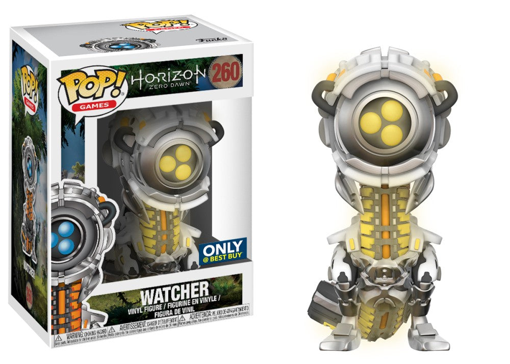 Funko Pop! Games - Horizon Zero Dawn #260 - Watcher (Glow in the Dark) (Exclusive) *VAULTED* - Simply Toys