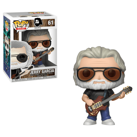 Funko Pop! Rocks - Grateful Dead #61 - Jerry Garcia - Simply Toys