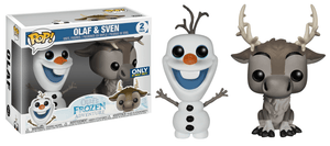 Funko Pop! Movies - Frozen - Olaf & Sven (2 Pack) (Exclusive) - Simply Toys
