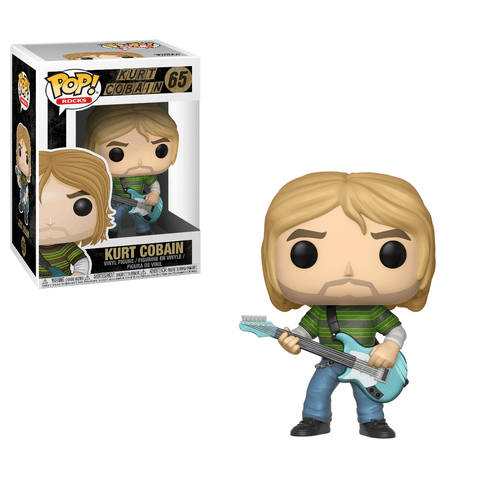 Funko Pop! Rocks - Nirvana #65 - Kurt Cobain - Simply Toys