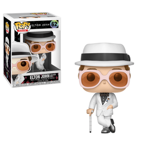 Funko Pop! Rocks - Elton John #62 - Elton John (Greatest Hits) - Simply Toys