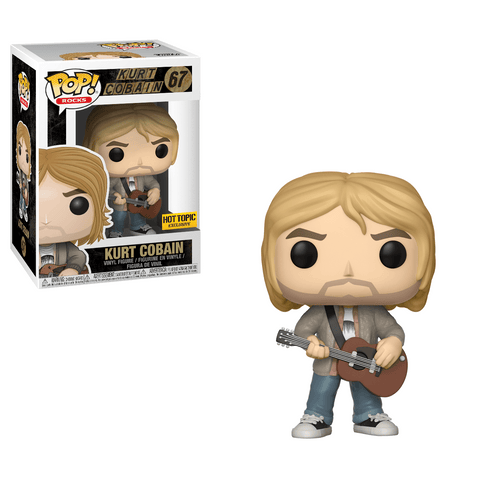 Funko Pop! Rocks - Nirvana #67 - Kurt Cobain (MTV Unplugged) (Exclusive) - Simply Toys