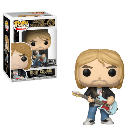 Funko Pop! Rocks - Nirvana #66 - Kurt Cobain (Live & Loud) (Exclusive) - Simply Toys