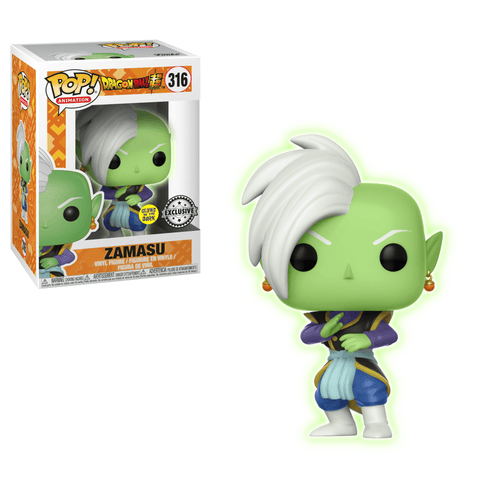 Funko Pop! Animation - Dragonball Super #316 - Zamasu (Glow in the Dark) (Exclusive) - Simply Toys
