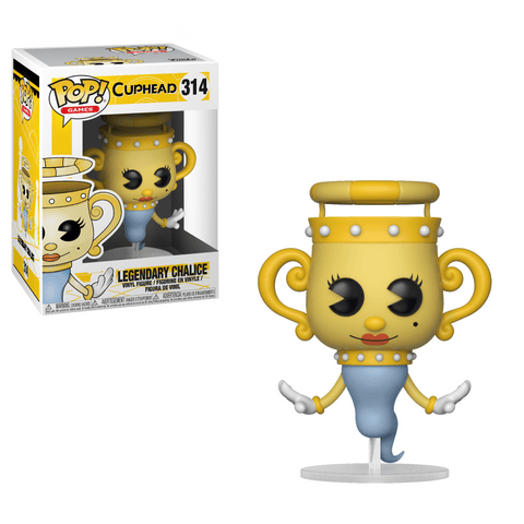 Funko Pop! Games - Cuphead #314 - Legendary Chalice - Simply Toys