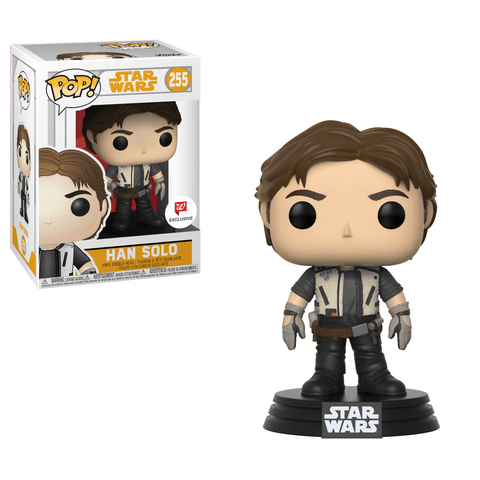 Funko Pop! Movies - Solo: A Star Wars Story #255 - Han Solo (Young) (Exclusive) - Simply Toys