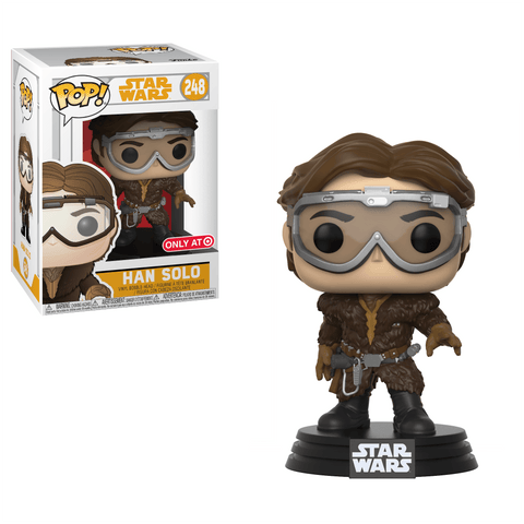 Funko Pop! Movies - Solo: A Star Wars Story #248 - Han Solo (with Goggles) (Exclusive) - Simply Toys