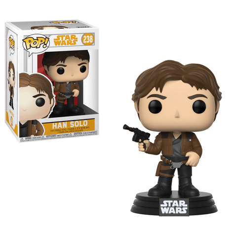 Funko Pop! Movies - Solo: A Star Wars Story #238 - Han Solo - Simply Toys
