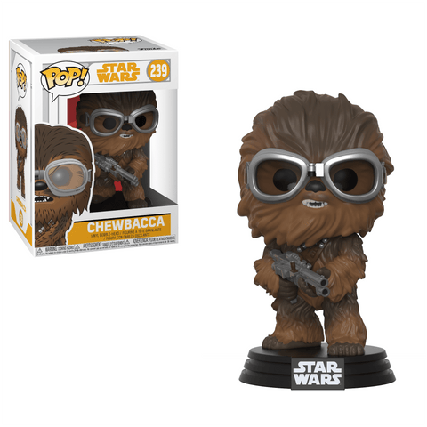 Funko Pop! Movies - Solo: A Star Wars Story #239 - Chewbacca (with Goggles) - Simply Toys