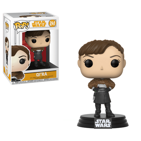 Funko Pop! Movies - Solo: A Star Wars Story #241 - Qi'ra - Simply Toys
