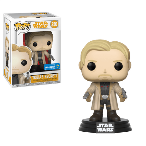 Funko Pop! Movies - Solo: A Star Wars Story #250 - Tobias Beckett (with Dual Blasters) (Exclusive) - Simply Toys