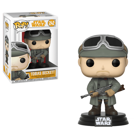 Funko Pop! Movies - Solo: A Star Wars Story #242 - Tobias Beckett (with Goggles) - Simply Toys