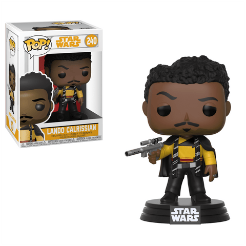 Funko Pop! Movies - Solo: A Star Wars Story #240 - Lando Calrissian - Simply Toys