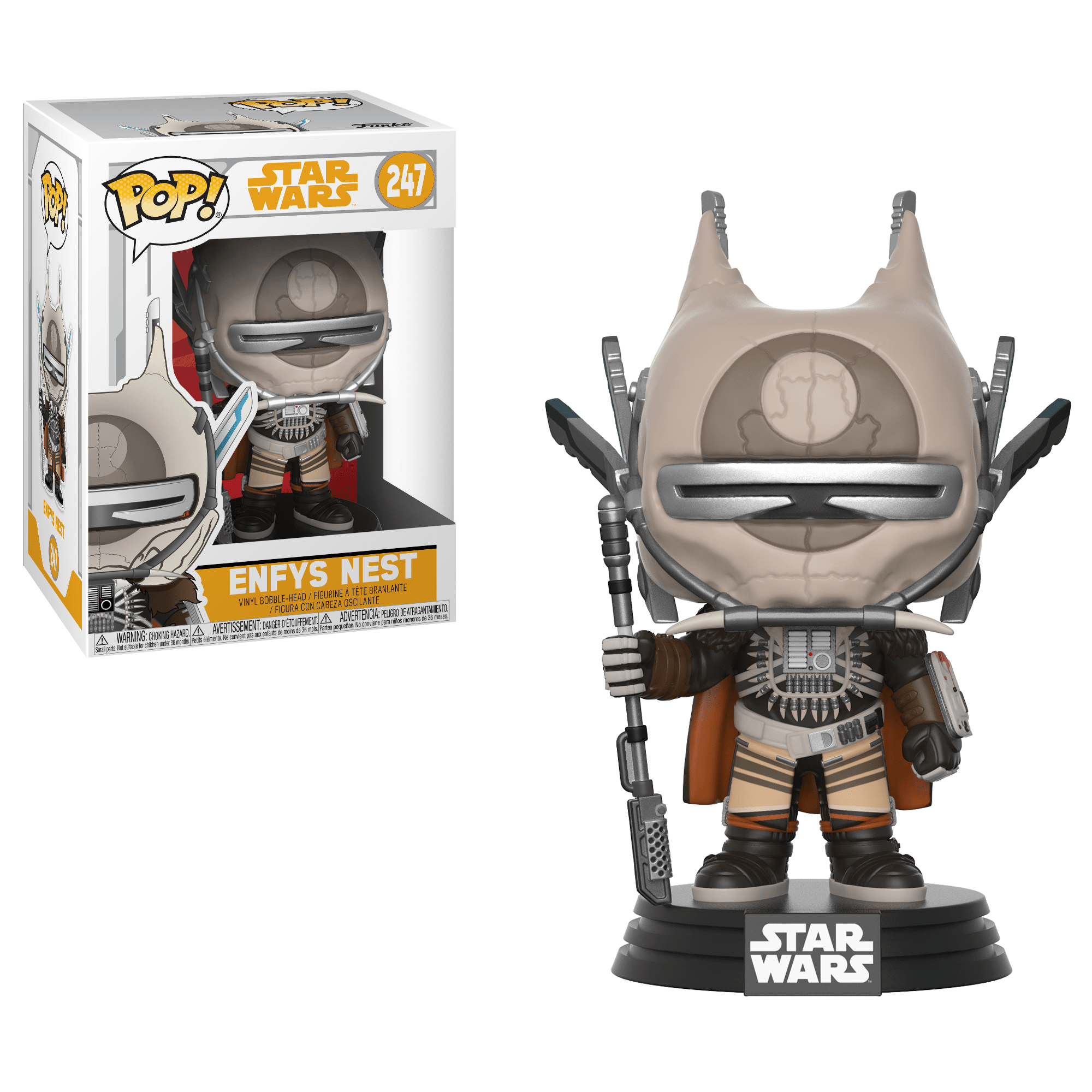Funko Pop! Movies - Solo: A Star Wars Story #247 - Enfys Nest - Simply Toys