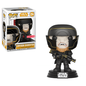 Funko Pop! Movies - Solo: A Star Wars Story #254 - Dryden Gangster (Exclusive) - Simply Toys