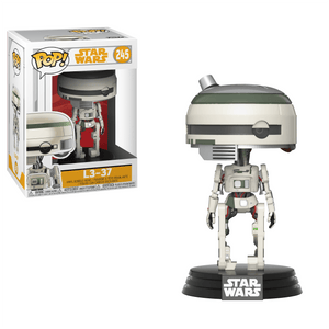 Funko Pop! Movies - Solo: A Star Wars Story #245 - L3-37 - Simply Toys