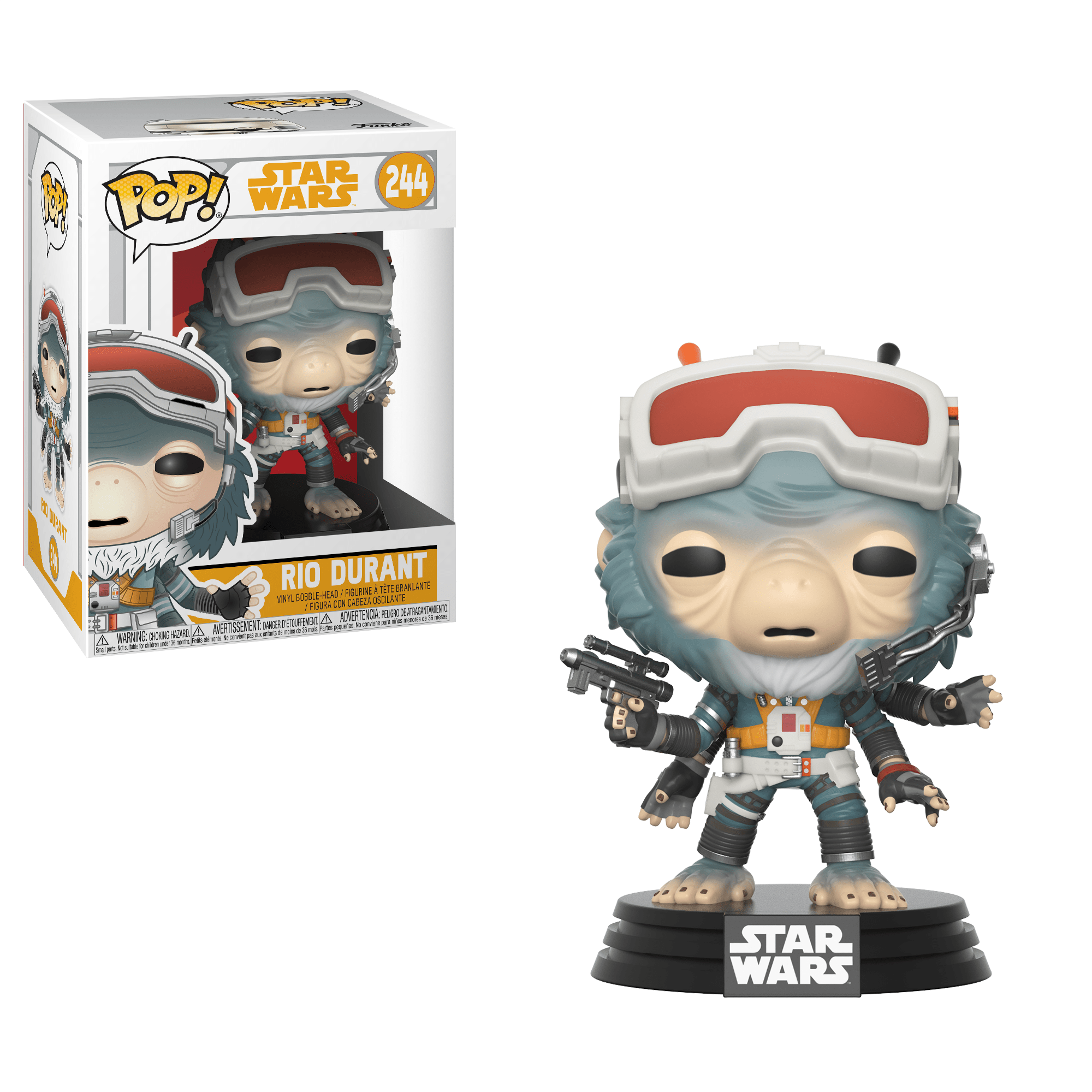 Funko Pop! Movies - Solo: A Star Wars Story #244 - Rio Durant - Simply Toys