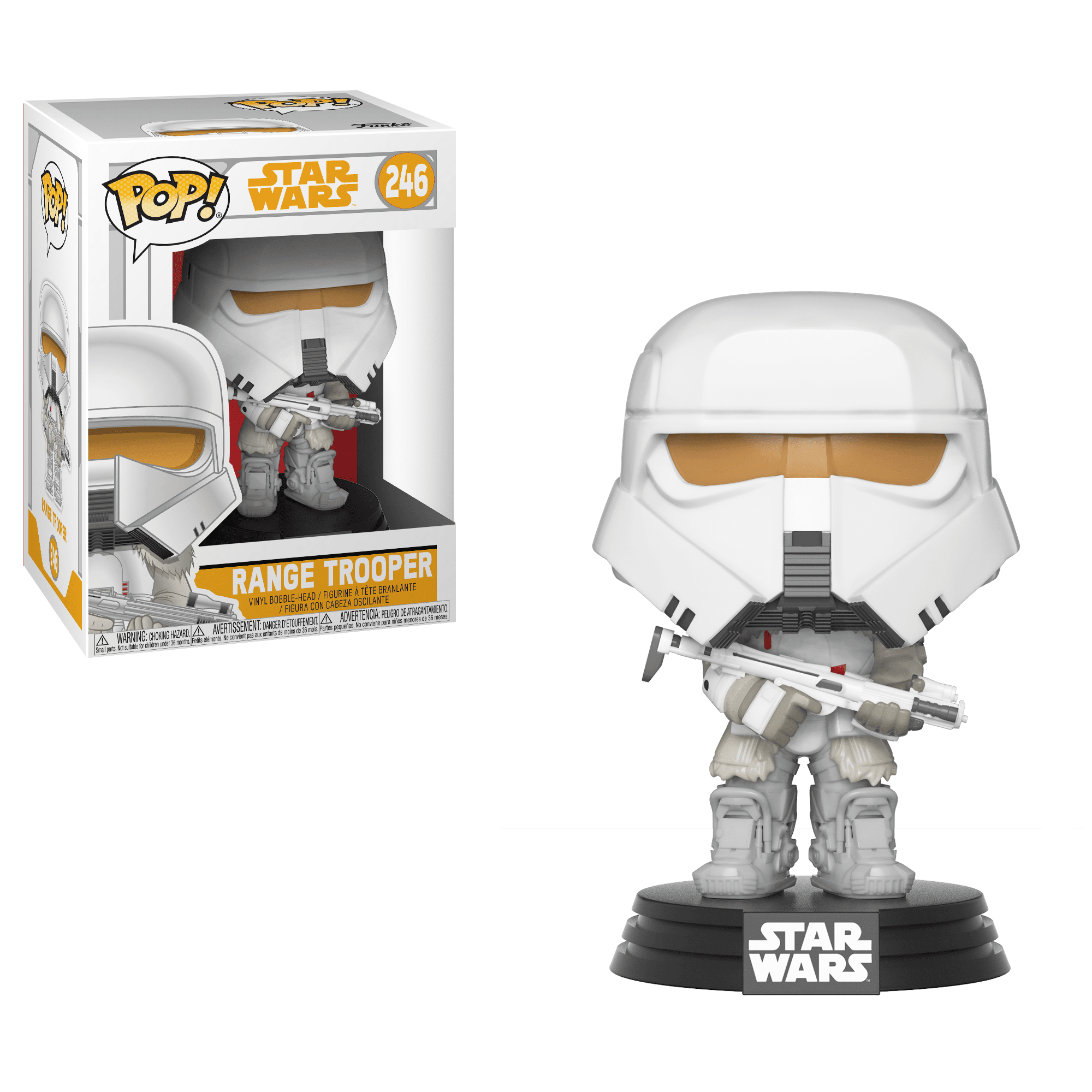 Funko Pop! Movies - Solo: A Star Wars Story #246 - Range Trooper - Simply Toys