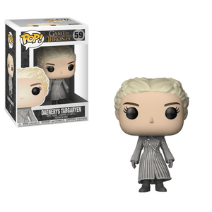 Funko Pop! Television - Game of Thrones #59 - Daenerys Targaryen (White Coat) - Simply Toys